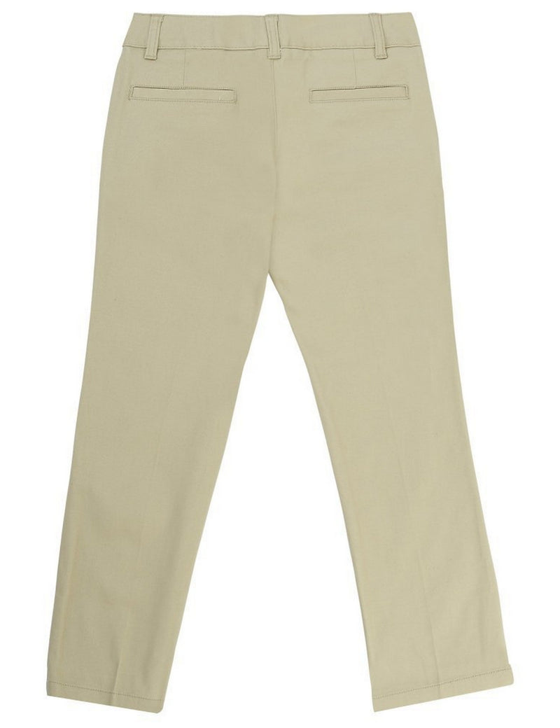 French Toast Girls' Straight Leg Pant Khaki