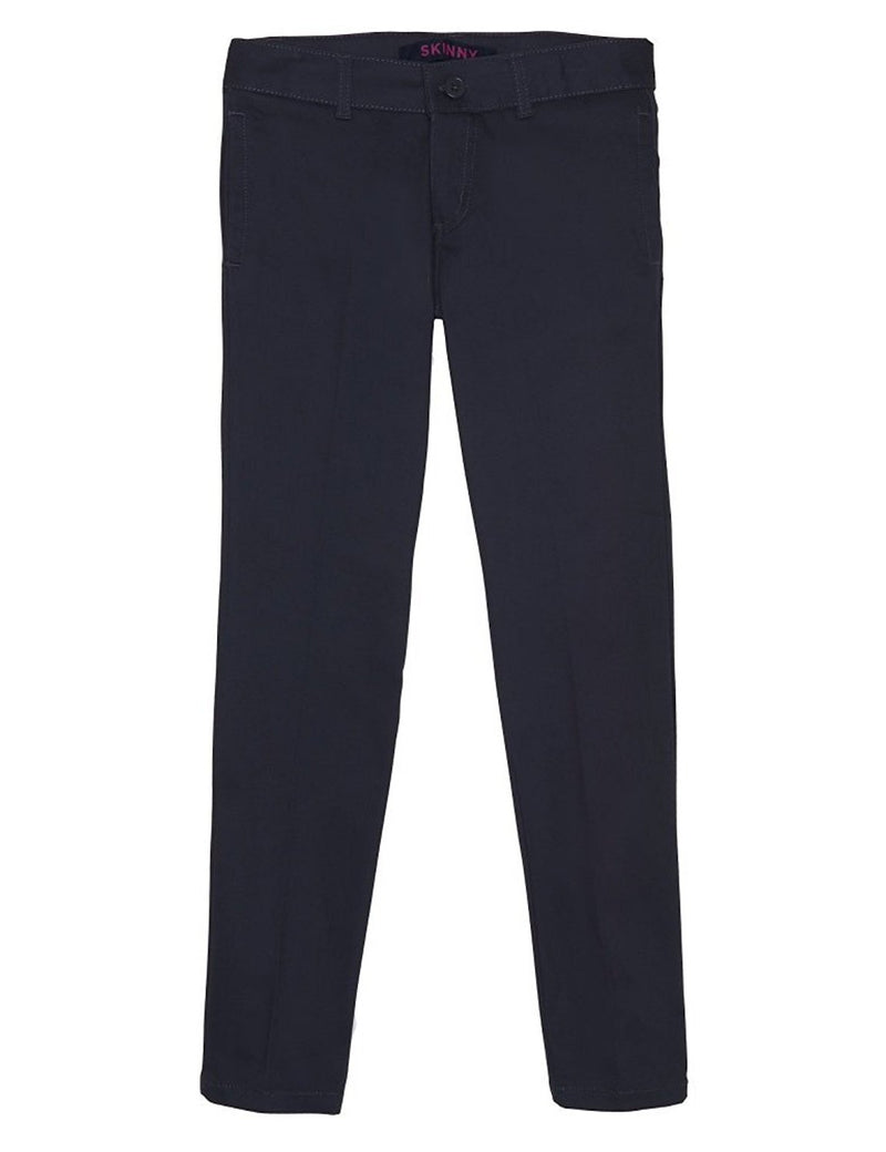 French Toast Girls' Straight Leg Pant Navy