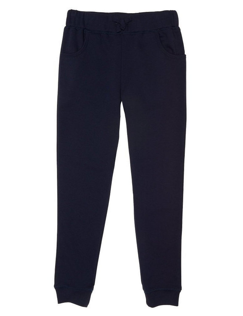 French Toast Girls' Fleece Jogger Navy
