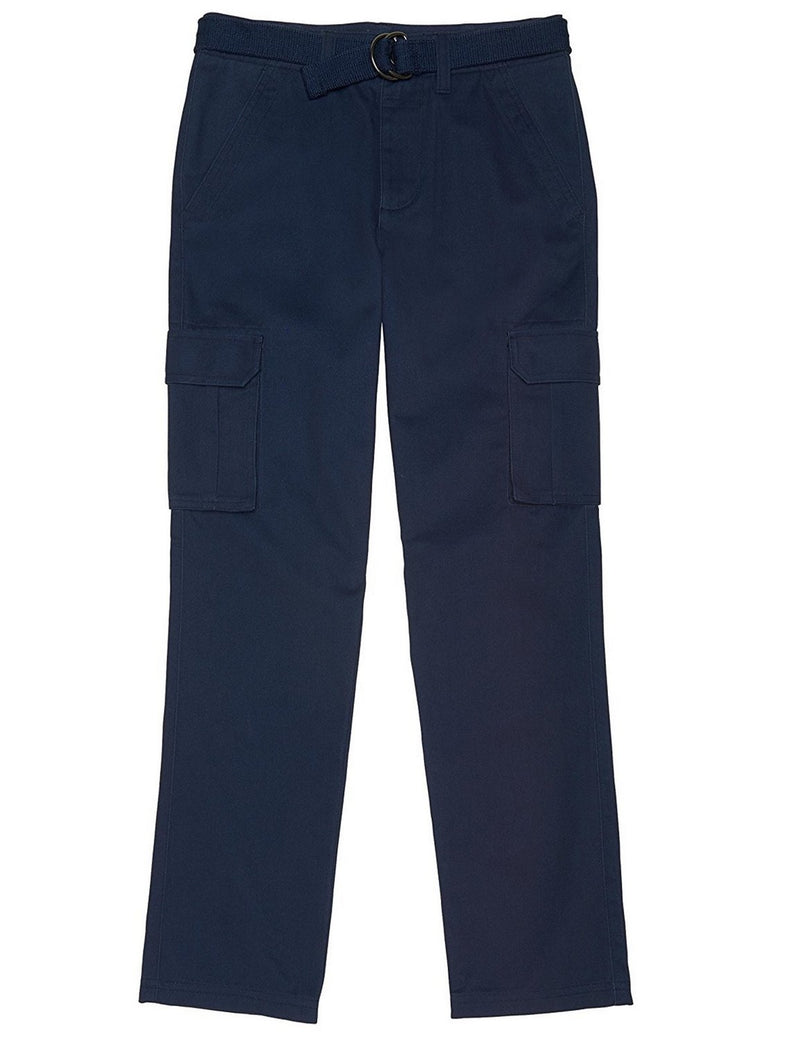 French Toast School Uniform Boys Belted Cargo Pants