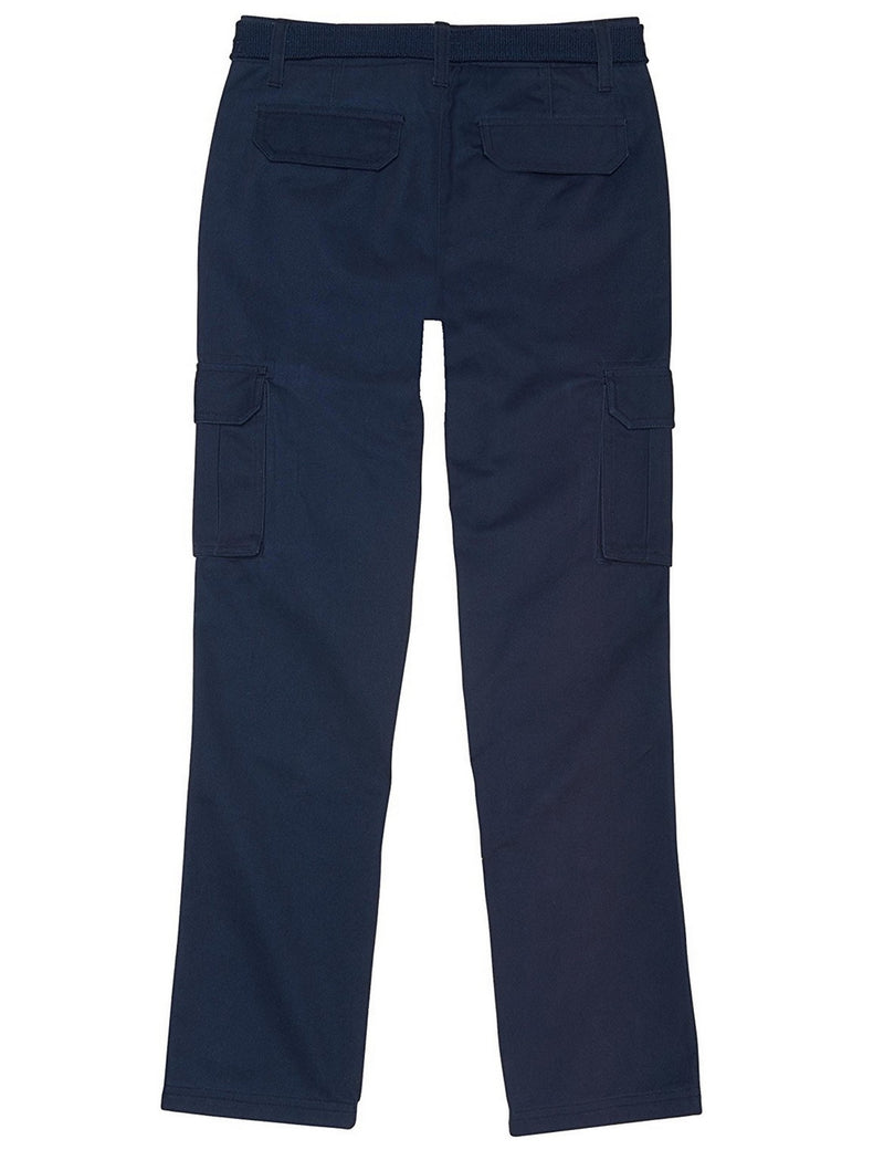 French Toast School Uniform Boys Belted Cargo Pants Navy