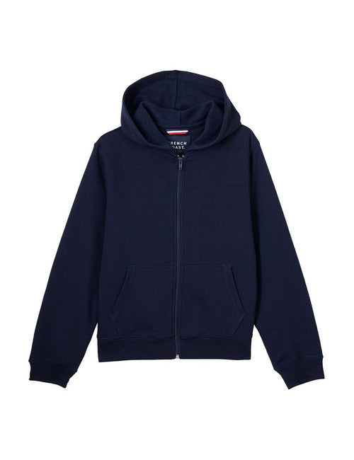 French Toast Boys' Fleece Hoodie Navy