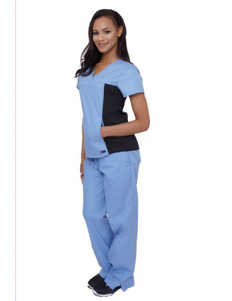 Lizzy-B Stretch Inset Set (New Fit) Light Blue