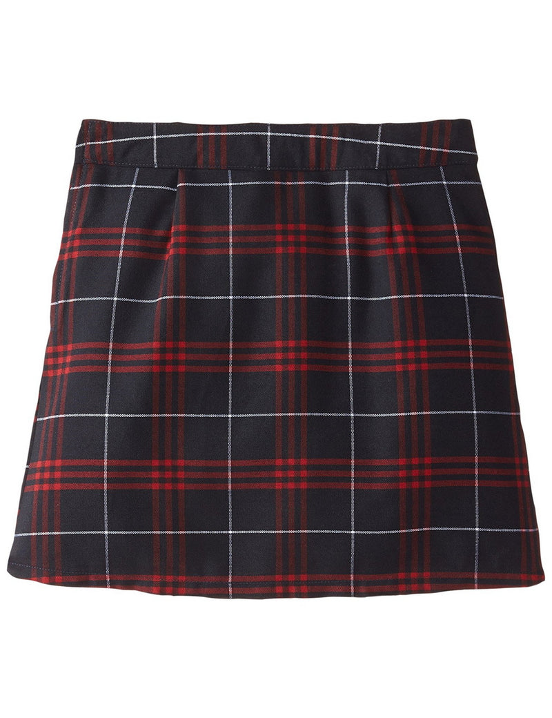 French Toast Girls' Plaid Pleated Scooter Plaid