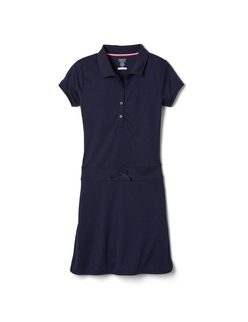 French Toast Sport Polo Dress Navy
