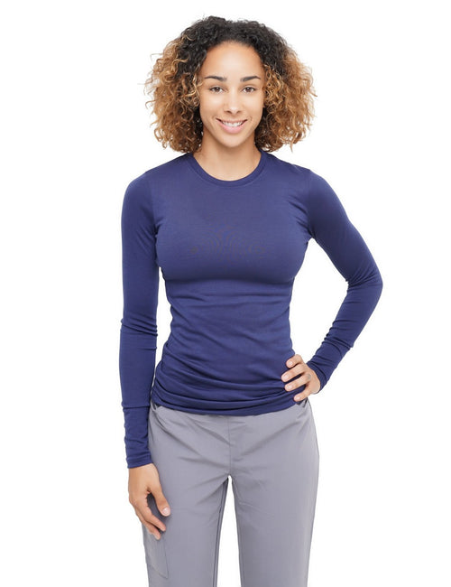 JDM Uniforms Undershirt Long Sleeve Navy