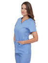 Lizzy-B Asiana Top Light Blue - Black