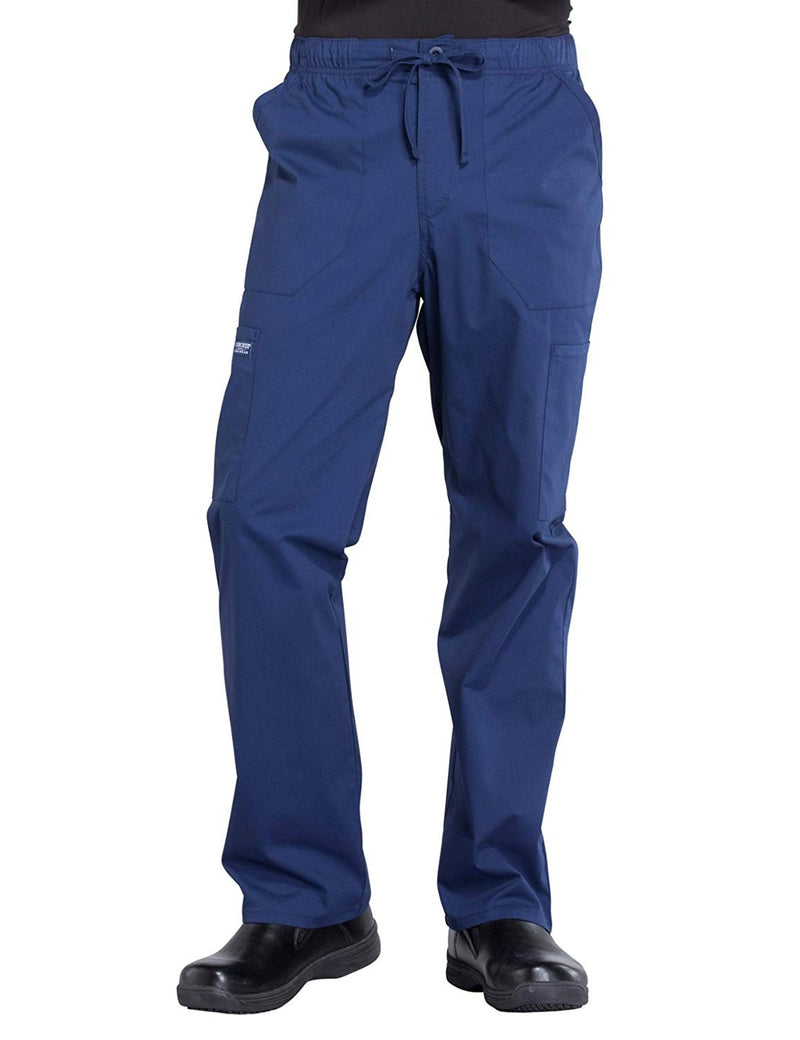 Cherokee WW Professionals WW190 Men's Tapered Leg Cargo Pant Navy