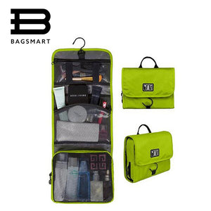 BAGSMART Waterproof Portable Make Up and Toiletry Bag With Hanger