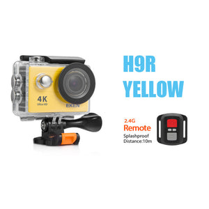 Eken H9 / H9R Ultra HD 4K Action Camera 30m Waterproof 2.0' Screen 1080p