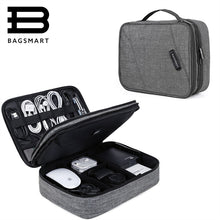 BAGSMART Cable Organizer and Electronics Accessories Case