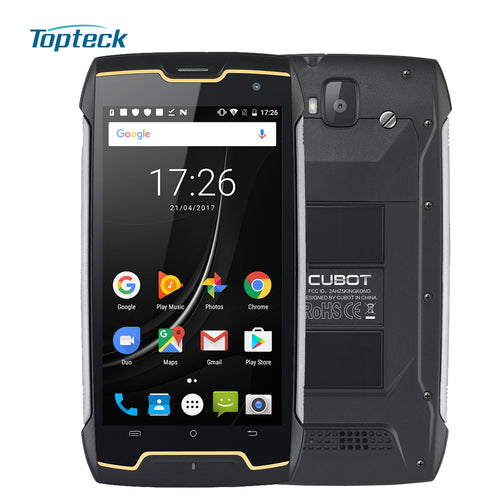 CUBOT King Kong IP68 Waterproof Shockproof Dustproof 5Inch MT6580 Quad Core 2GB RAM/16GB ROM 8.0+13.0MP Mobile Phone