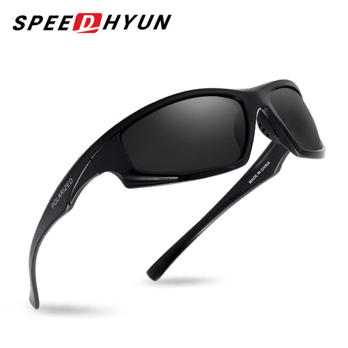 SPEEDHYUN Vintage Polarized Sunglasses For Men