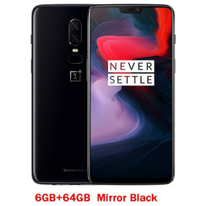 OnePlus 6 Snapdragon 845 Octa Core AI Dual Camera 20MP+16MP Face Unlock Android 8 Smartphone
