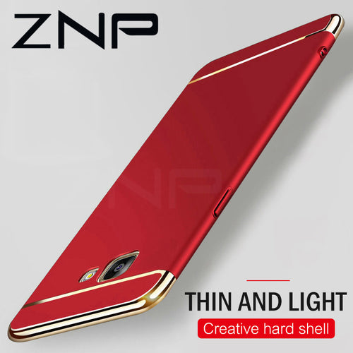 ZNP Luxury Electroplate Phone Case For Samsung Galaxy A and Galaxy J Series