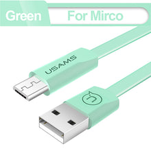 Micro USB, USB Type C, iPhone Fast Charging Phone Cable USAMS