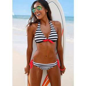 Women's Swimsuit Wire Free Push Up Bikini