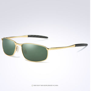 Pro Acme Brand Men's Polarized Rectangle Sunglasses