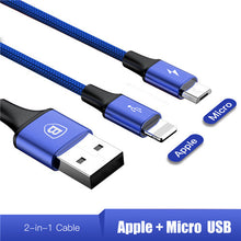 Baseus 3in1 / 2in1 Fast Charging USB Cables
