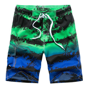 DESMIIT Plus Size Men's Swimming Shorts