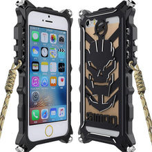 Tough Armor Metal Aluminum Phone Case for iPhone 7 6 6s Plus 5 5s SE