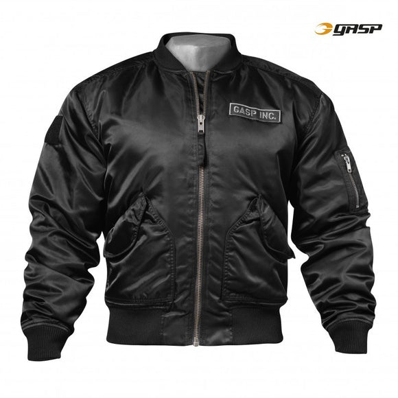 GASP UTILITY JACKET (Black) - ملابس رياضية