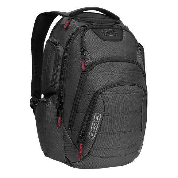RENEGADE RSS LAPTOP BACKPACK (Black Pindot) - ملحقات رياضية