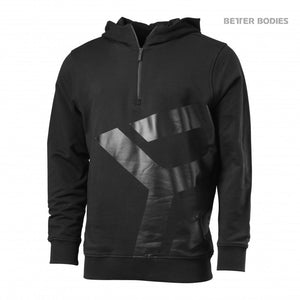 BROOKLYN ZIP HOOD (Black/Grey) - ملابس رياضية