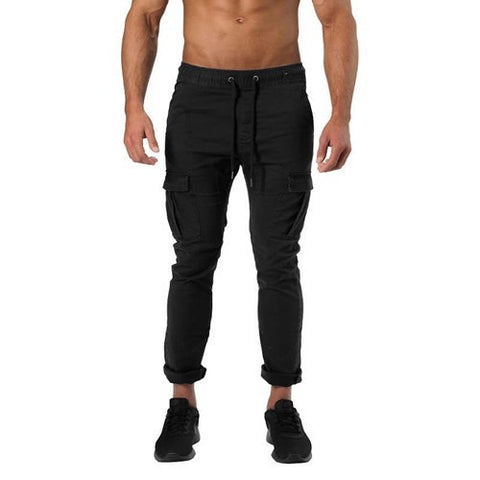 HARLEM CARGO PANTS (Wash Black) - ملابس رياضية