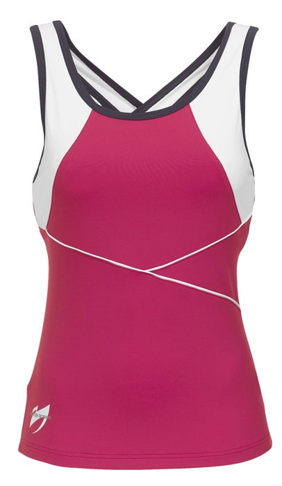 WESTSIDE CROSS TANK (Hot Pink) - ملابس رياضية