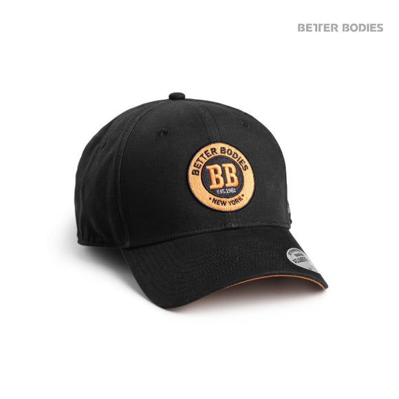 MENS BASEBALL CAP (Black/Orange) - ملحقات رياضية