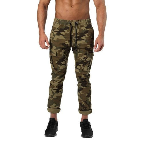 HARLEM CARGO PANTS (Military Camo) - ملابس رياضية