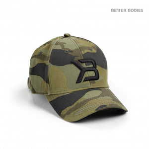 BB BASEBALL CAP (Green Camo) - ملحقات رياضية