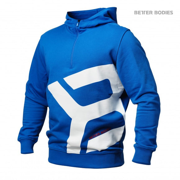 BROOKLYN ZIP HOOD (Strong Blue) - ملابس رياضية