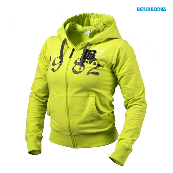 FITTED SOFT HOODIE (Lime) - ملابس رياضية