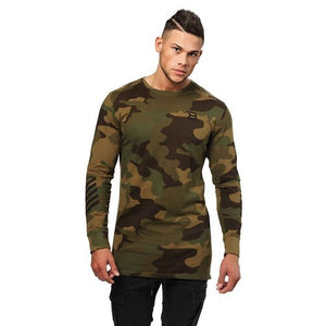 BRONX LONG SLEEVE (Military Camo) - ملابس رياضية