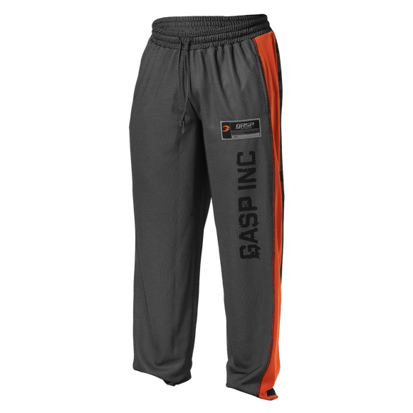NO1 MESH PANT (Black/Flame) - ملابس رياضية