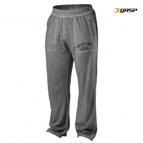 HERITAGE PANTS (Grey Melange) - ملابس رياضية