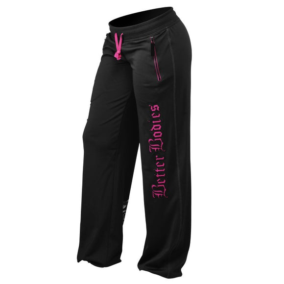 WOMENS FLEX PANT (Black/Pink) - ملابس رياضية