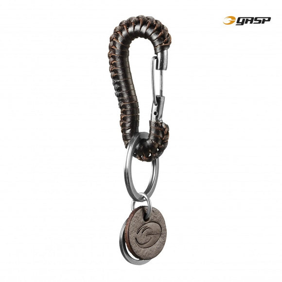 BRAIDED KEYCLIP (Dark Brown) - ملحقات رياضية