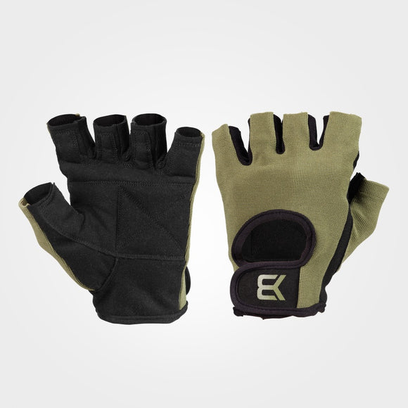 BASIC GYM GLOVES (Khaki Green) - ملحقات رياضية
