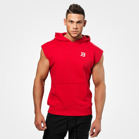 HUDSON S/L SWEATER (Bright Red) - ملابس رياضية