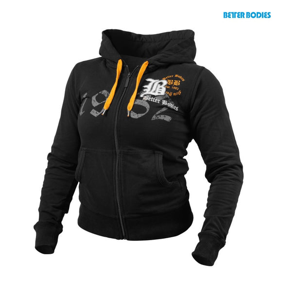 FITTED SOFT HOODIE (Black) - ملابس رياضية
