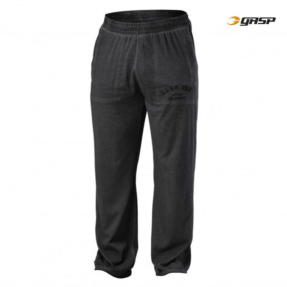 HERITAGE PANTS (Washed Black) - ملابس رياضية