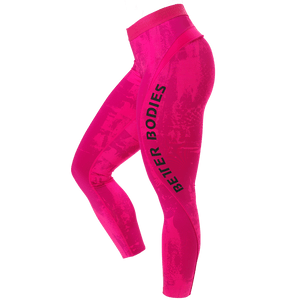GRACIE CURVE TIGHTS (Pink Print) - ملابس رياضية