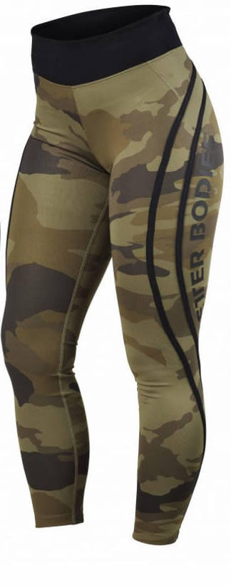 CAMO HIGH TIGHTS (Dark Green Camo) - ملابس رياضية