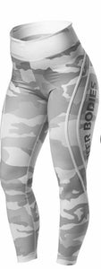CAMO HIGH TIGHTS (White Camo) - ملابس رياضية