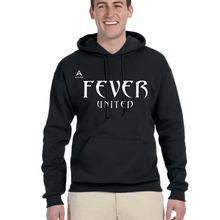 Load image into Gallery viewer, Fever United Fleece PullOver w/Hood (Black)