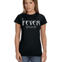 Load image into Gallery viewer, Fever United Short-Sleeve Fitted T-Shirt (Black)