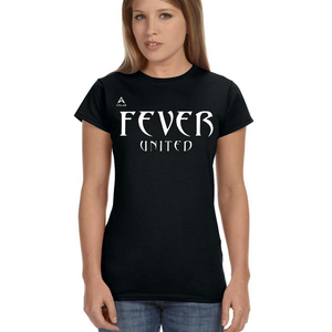 Fever United Short-Sleeve Fitted T-Shirt (Black)